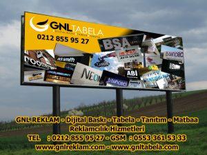 GNL REKLAM – Dijital Baskı – Tabela – Tanıtım – Matbaa Reklamcılık Hizmetleri